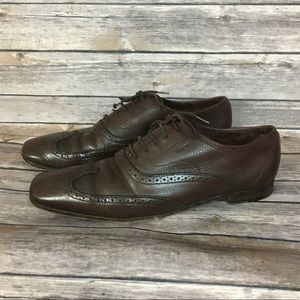 Salvatore Ferragamo Brown Oxfords